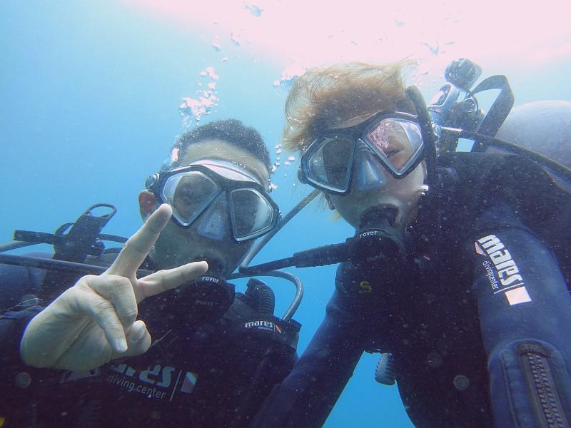 ヒリゾ浜体験ダイビング@ハンマーズアカデミー