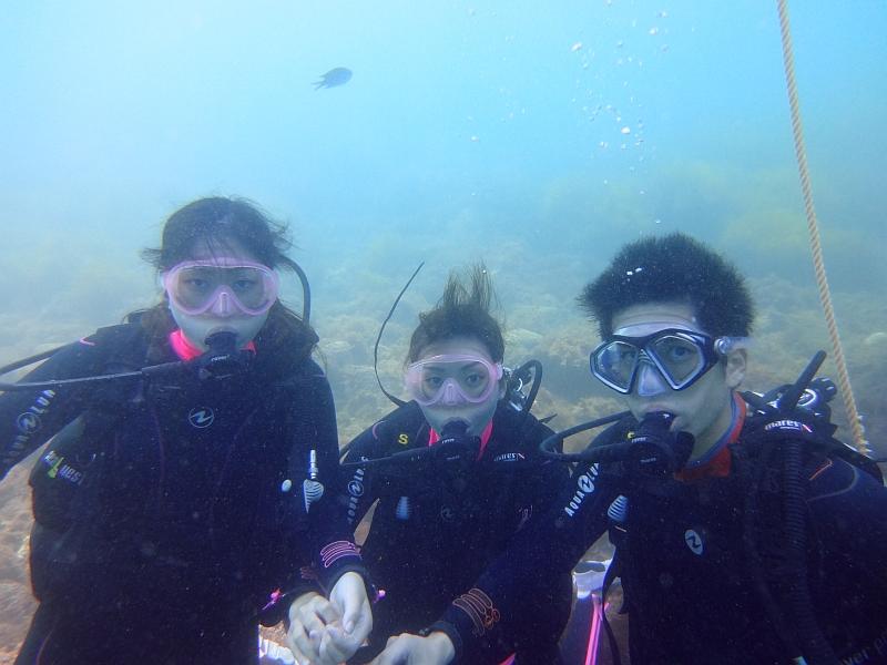 魚影!ヒリゾ浜体験ダイビング@アカデミー