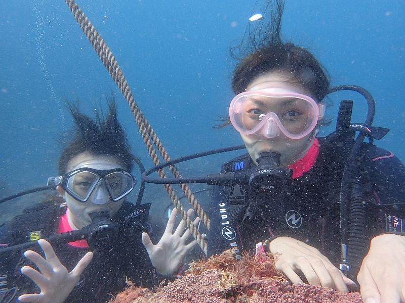 ようやくオープン!ヒリゾ浜体験ダイビング@アカデミー