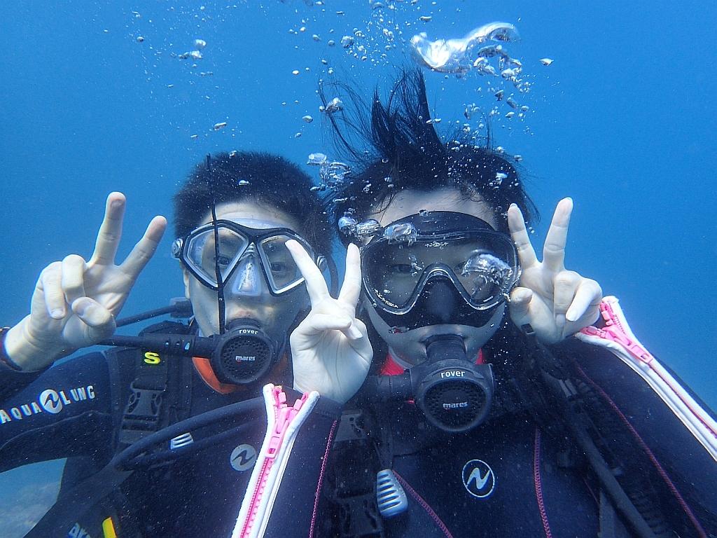 久しぶりに穏やかでした!ヒリゾ浜体験ダイビング@アカデミー