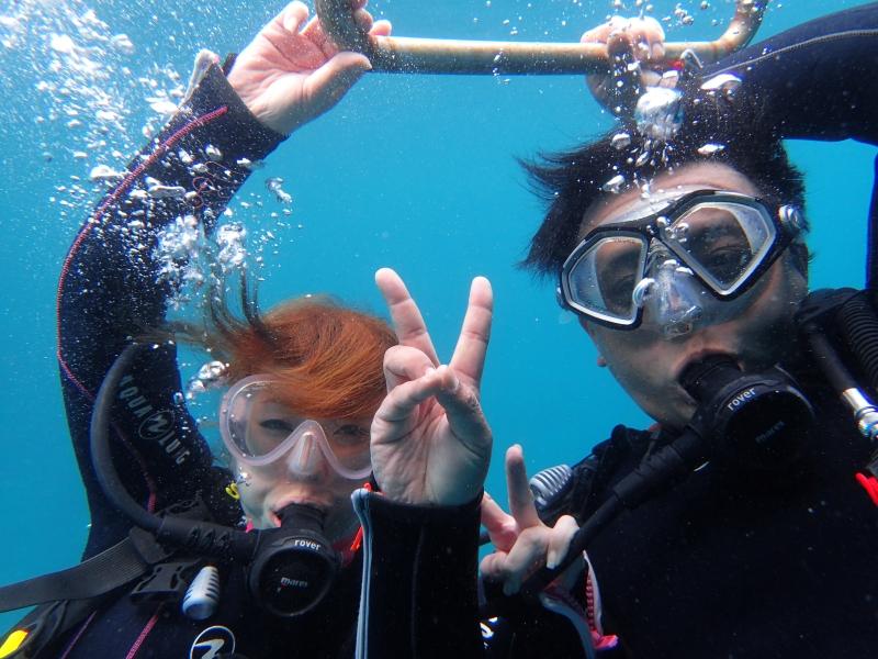 夏休みスタート!ヒリゾ浜体験ダイビング@アカデミー
