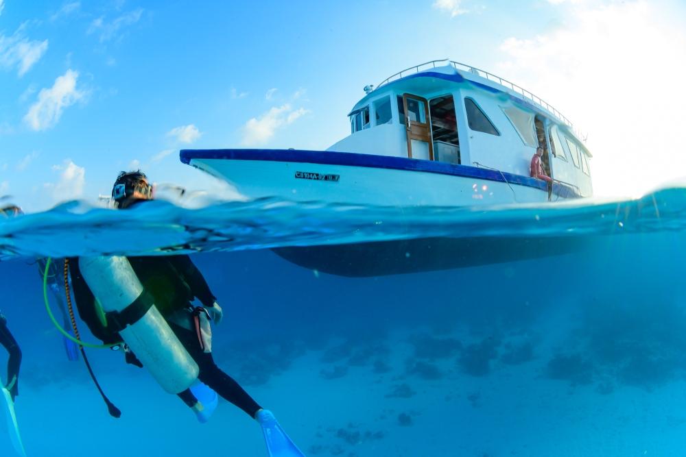 豪華な船と豪華な海で潜って遊んで!モルディブチャータークルーズ2020!