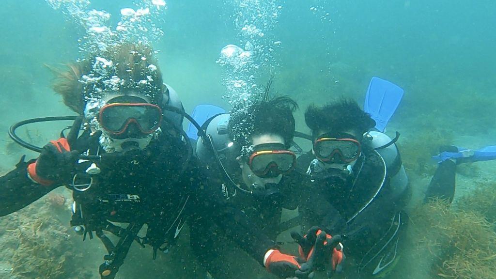 ヒリゾ浜体験ダイビング