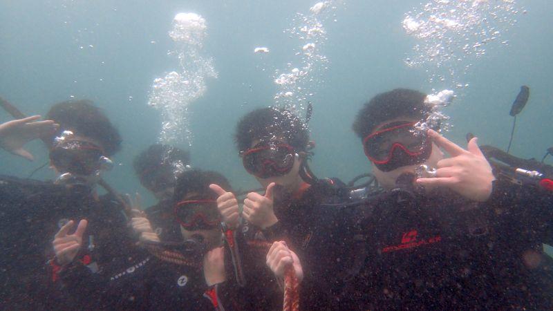 雨にも負けず体験ダイビング@ヒリゾ浜