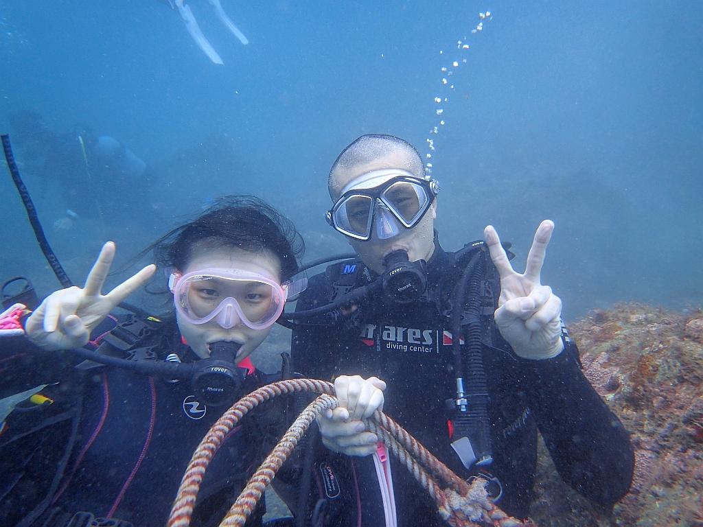 少し落ち着いてきました~ヒリゾ浜体験ダイビング@アカデミー