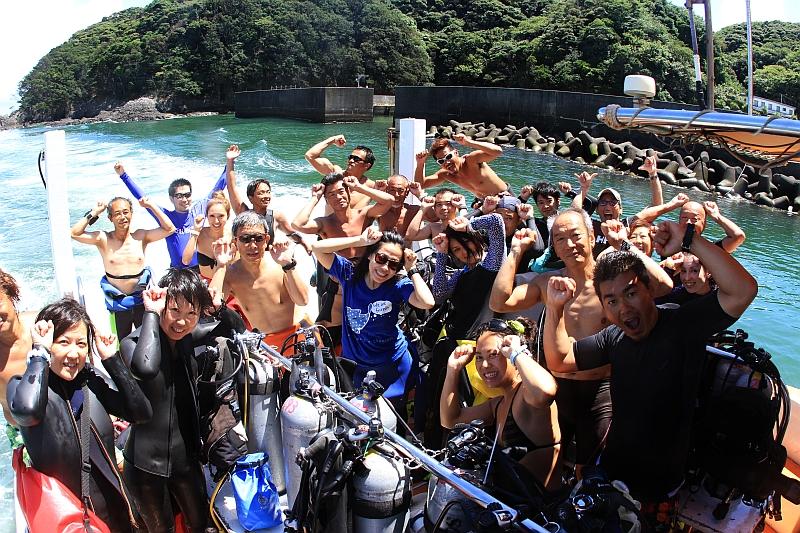 世界で一番熱い夏!!@神子元 ダイビングログ 神子元ハンマーズ - 神子元のダイビングサービス
