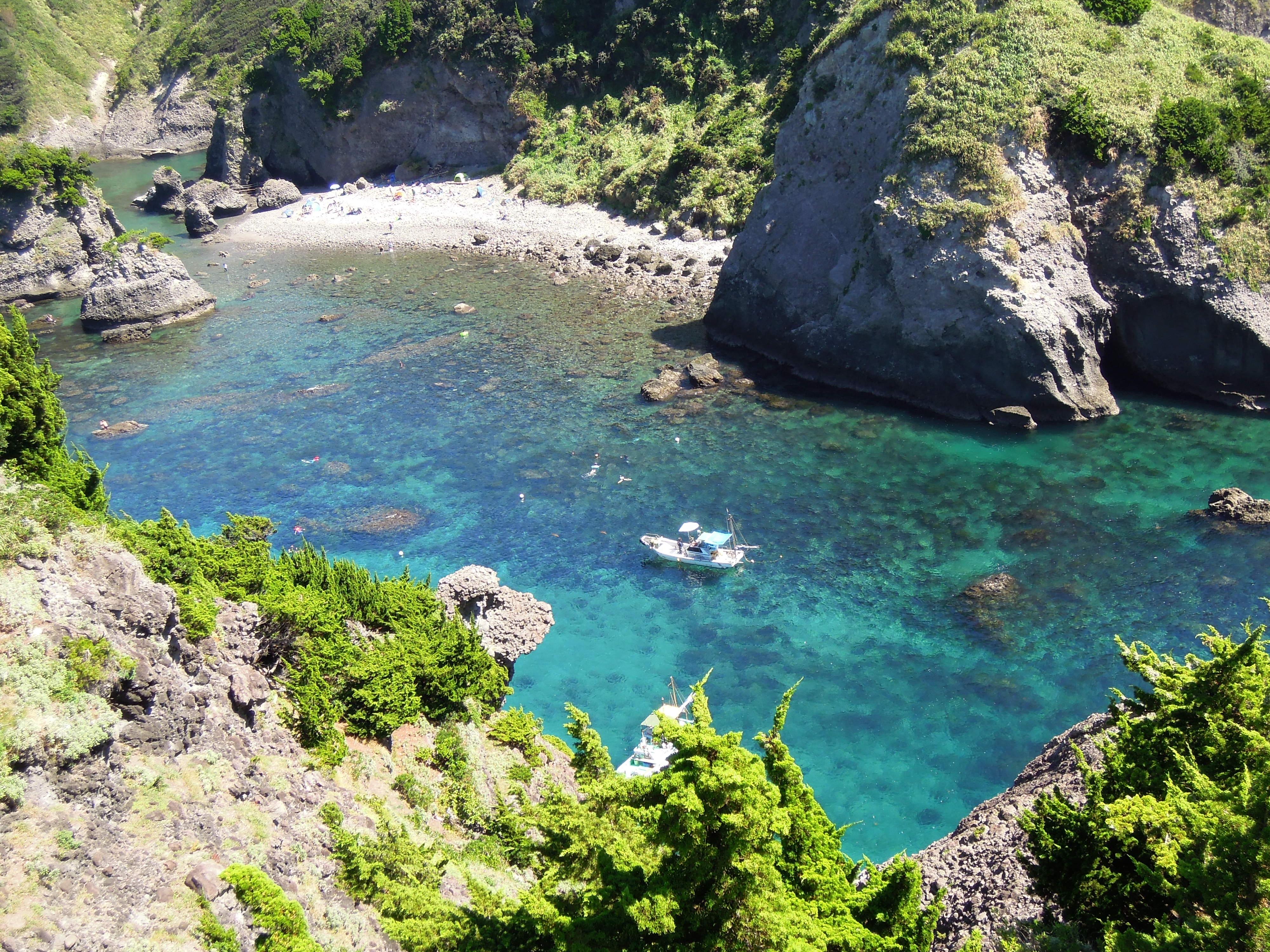 今年も観光協会主催のヒリゾ浜海水浴ツアー開催!オプショナルツアーはぜひ当店で!